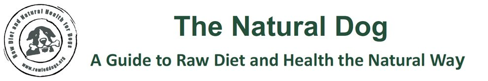 Raw Fed Dogs - Natural Prey Model Rawfeeding Diet Guide and Health the Natural Way
